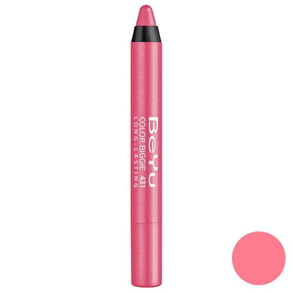 رژ لب مدادی 2 کاره بی یو مدل Color Biggie for Lip and More 431