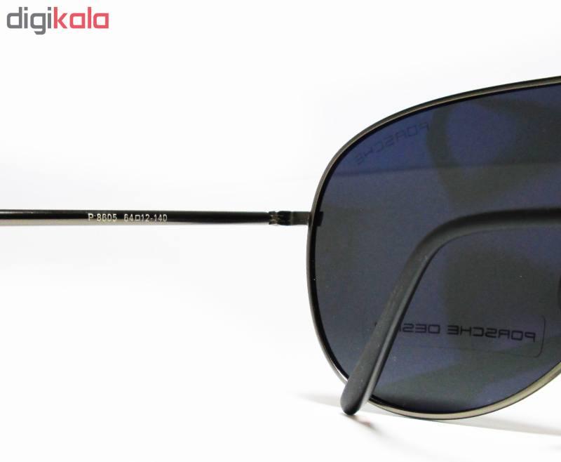 عینک آفتابی پورش دیزاین خلبانی مدل P8605