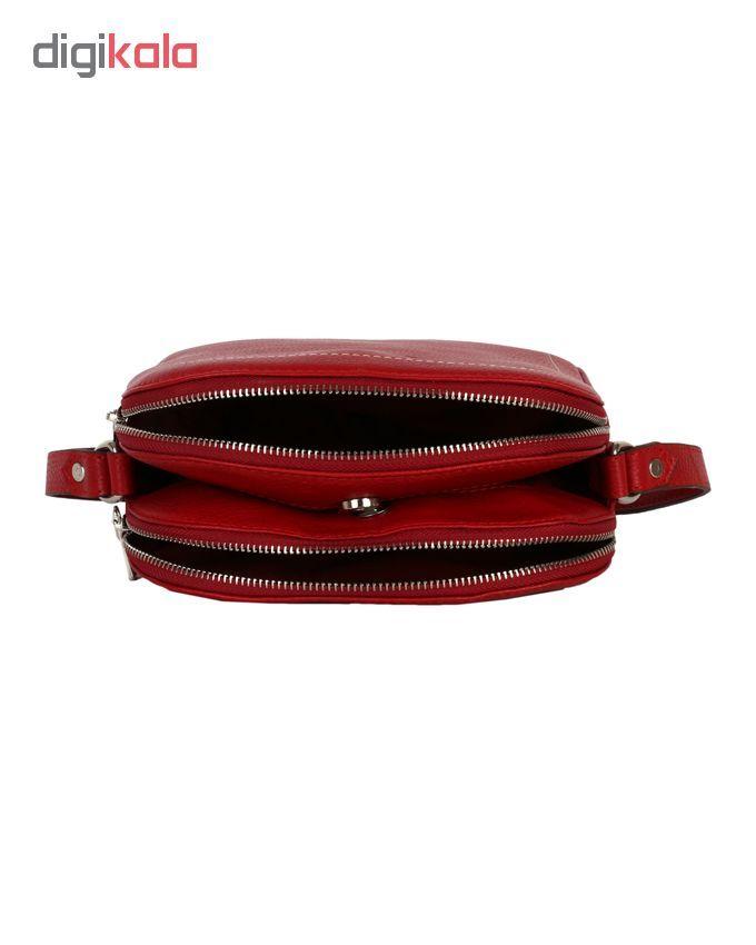 کیف دوشی رویال چرم کد W61-Red main 1 4