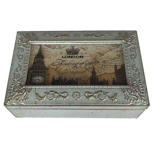 جعبه موزیکال مدل ساعت لندن
