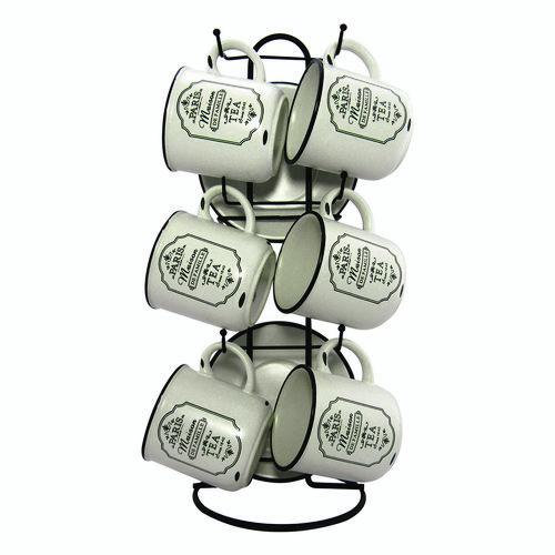 ست فنجان و نعلبکی 13 پارچه هارمونی مدل R2