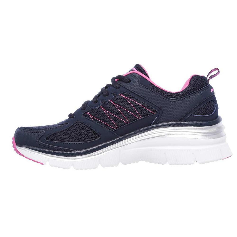 کفش مخصوص پیاده روی زنانه اسکچرز مدل MIRACLE 12713NVHP