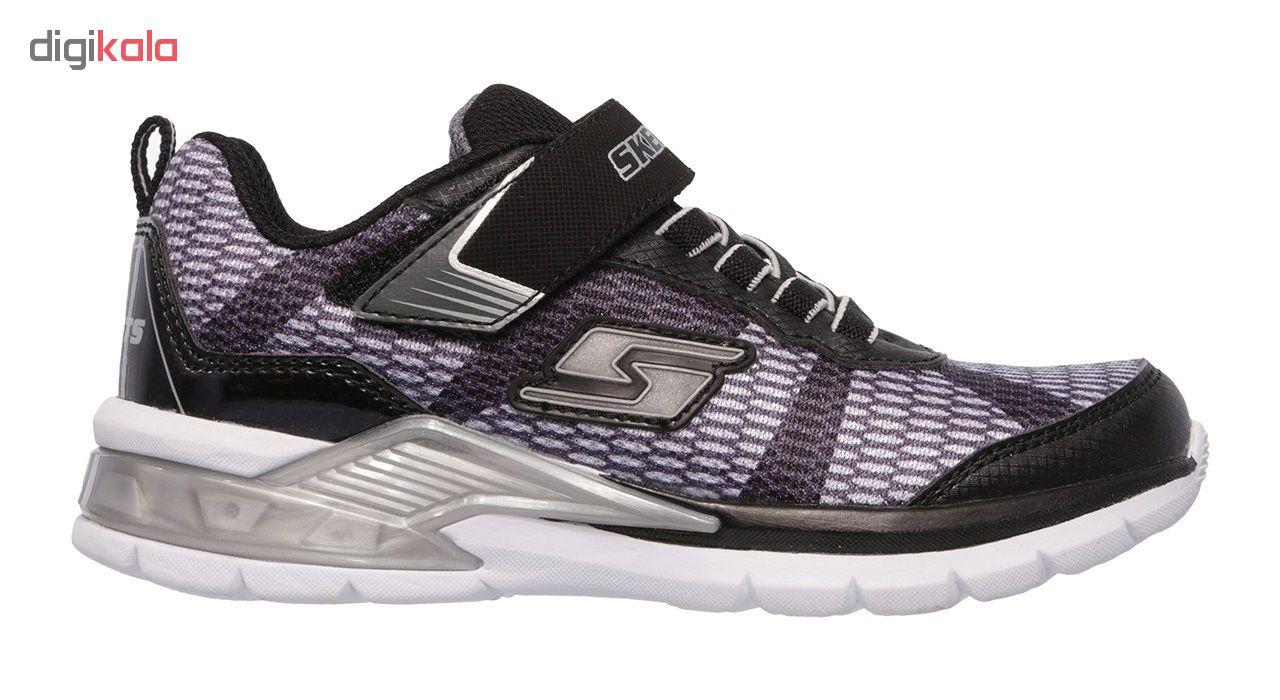 کفش مخصوص پیاده روی بچگانه اسکچرز مدل MIRACLE 90553L-BKSL