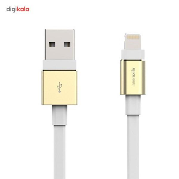 کابل تبدیل USB به لایتنینگ اینزگزایل مدل Zynk طول 1.8 متر
