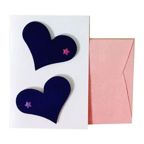 کارت پستال دست ساز مدل Love