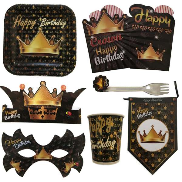 پک جشن تولد مدل King
