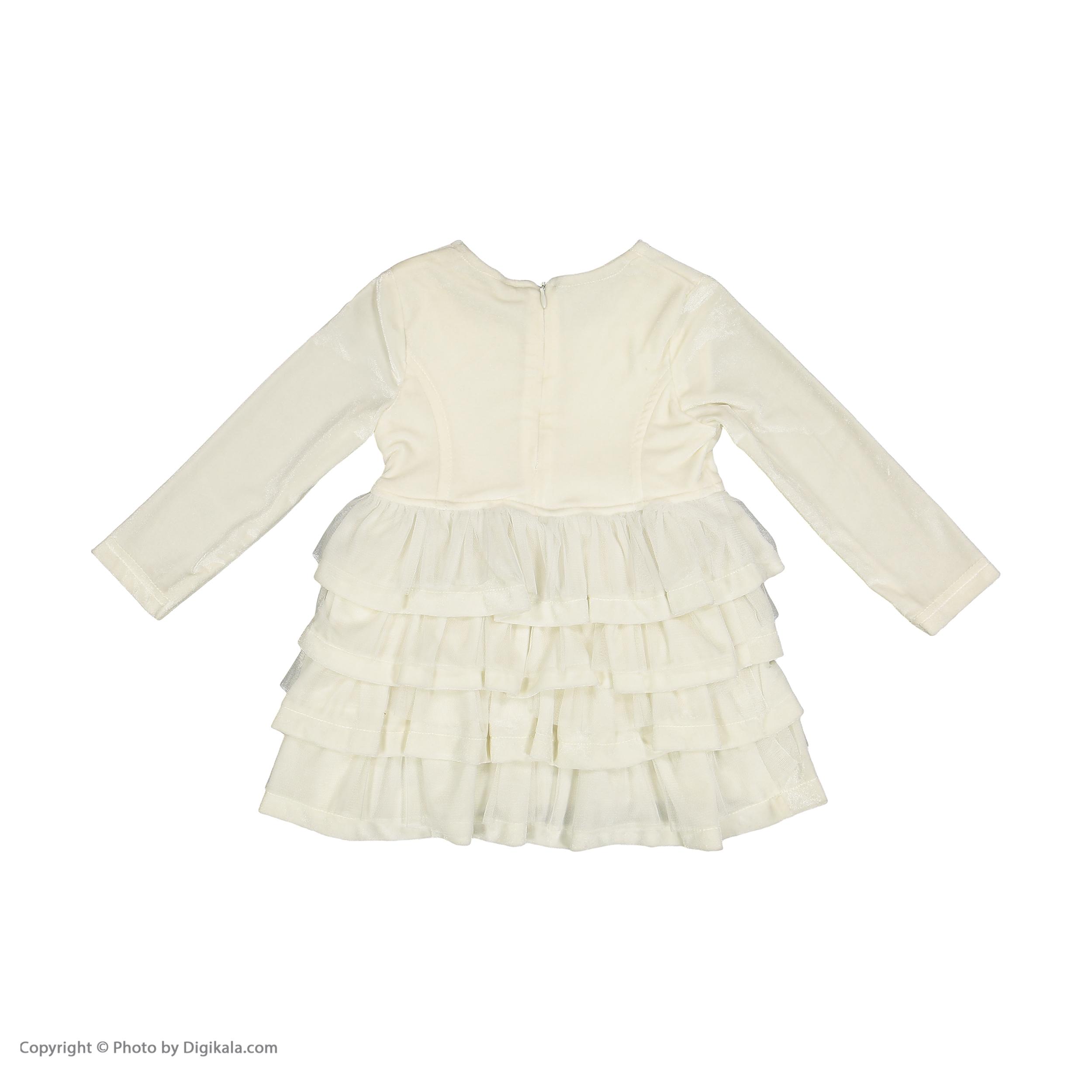 پیراهن دخترانه مونا رزا مدل 2141123-01