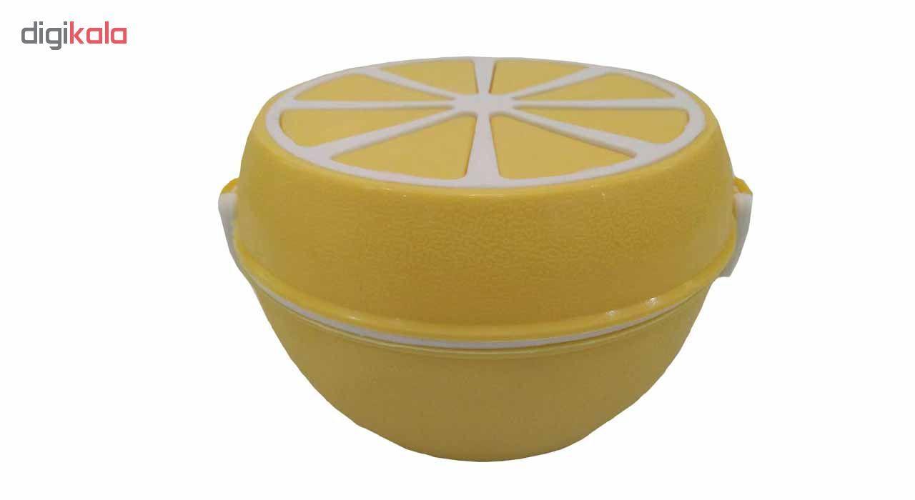 ظرف نگهدارنده سه تکه طرح پرتقال کد 0005 main 1 3