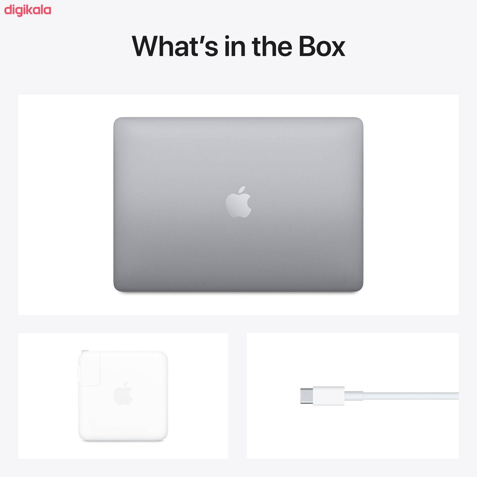 لپ تاپ 13 اینچی اپل مدل MacBook Pro MYD82 2020 همراه با تاچ بار  main 1 5