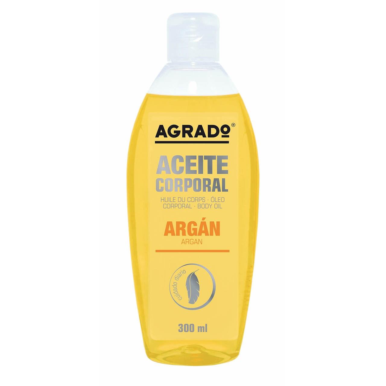 روغن روان کننده و نرم کننده آگرادو مدل Argan حجم 300 میلی لیتر