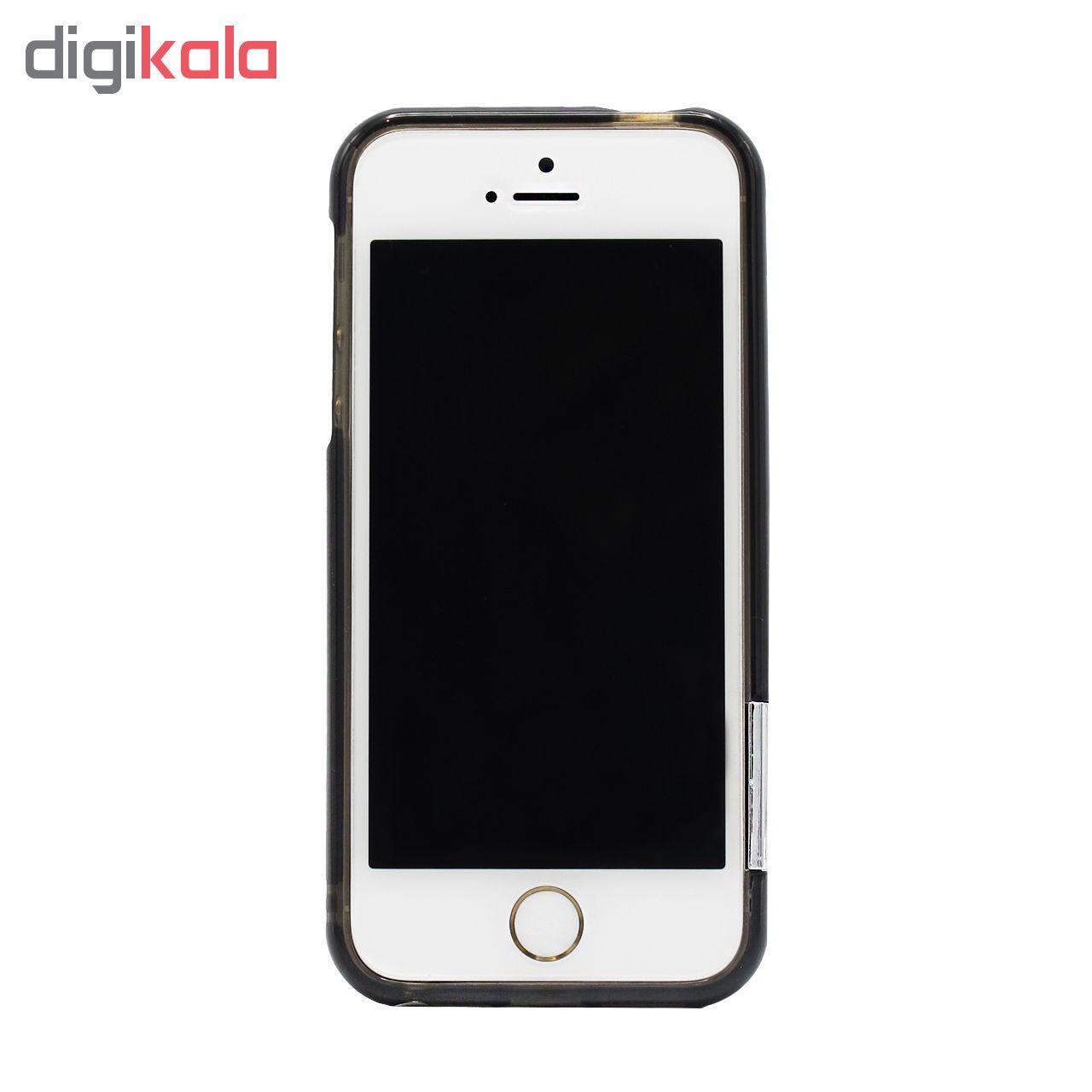 بامپر More مدل GEM مناسب برای گوشی موبایل اپل iPhone 5/5s/5se main 1 2