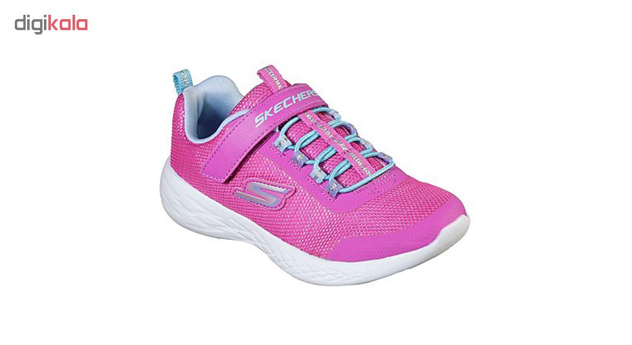 کفش مخصوص پیاده روی بچگانه اسکچرز مدل MIRACLE 82008L-PKMT
