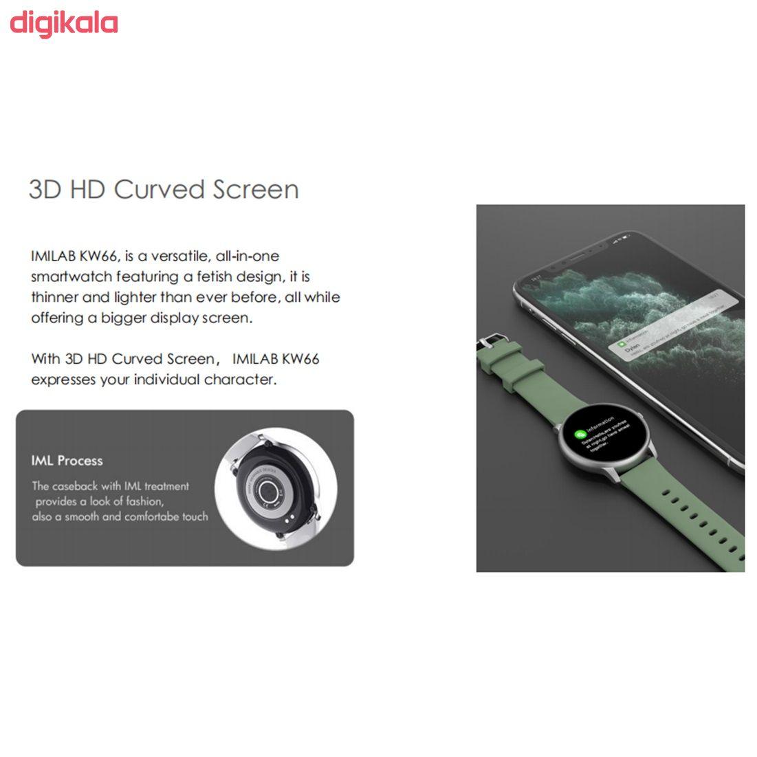 ساعت هوشمند ایمیلب مدل KW66 45mm main 1 8