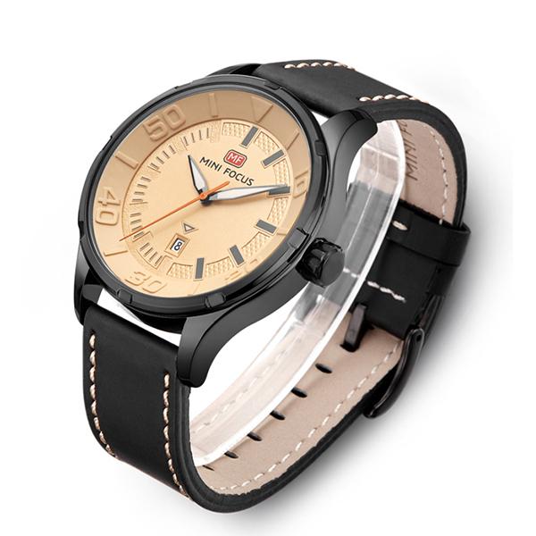 ساعت عقربه ای مینی فوکوس مدل mf0008g.02