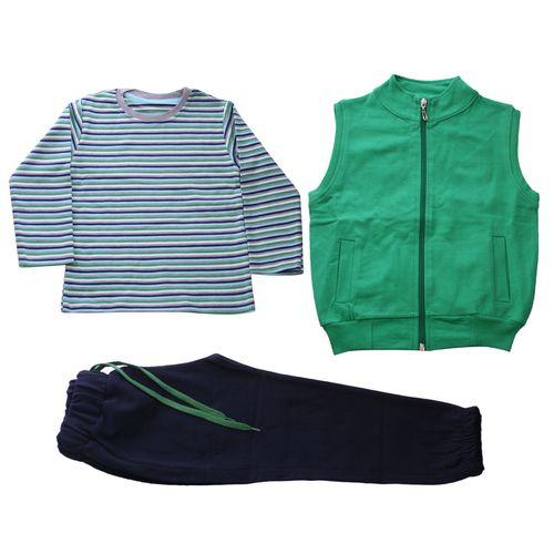 ست لباس پسرانه وچیون مدل Green76511