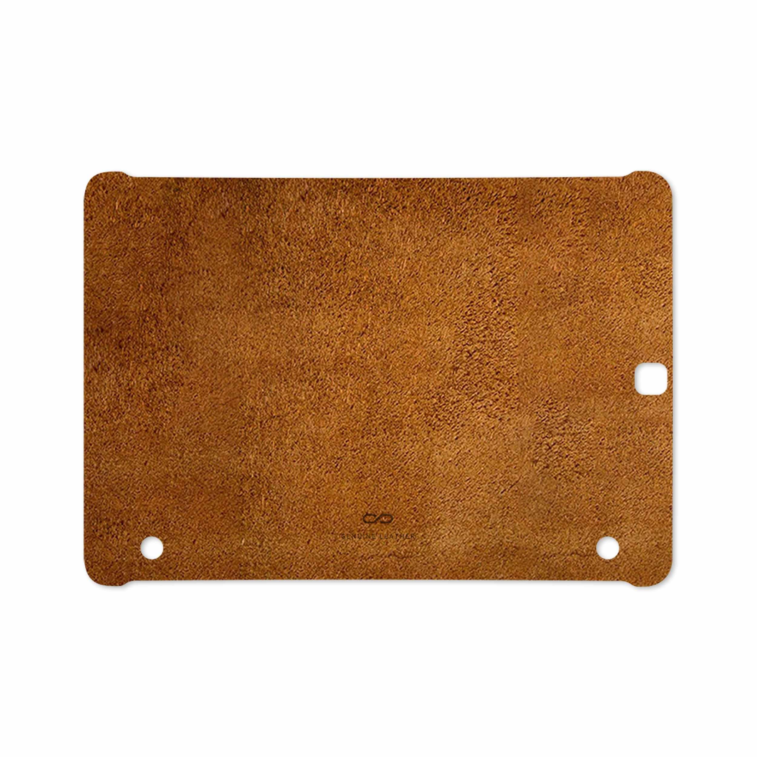 بررسی و خرید [با تخفیف]                                     برچسب پوششی ماهوت مدل Brown-Chamois-Leather مناسب برای تبلت سامسونگ Galaxy Tab S2 9.7 2016 T813N                             اورجینال