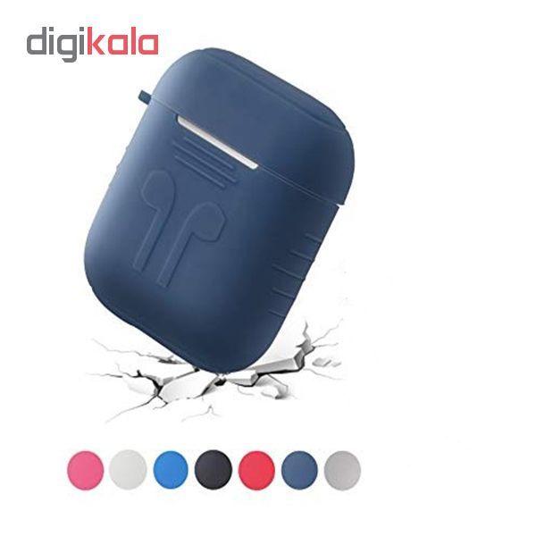 کاور محافظ مدل سیلیکونی مناسب برای کیس اپل ایرپاد Airpods main 1 1