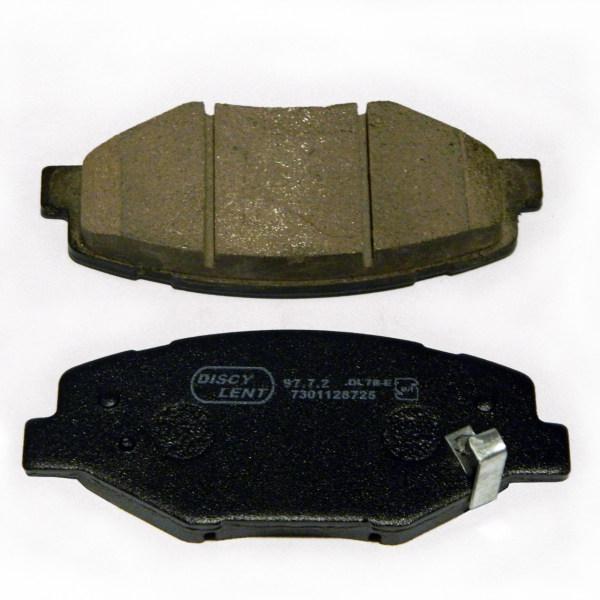لنت ترمز جلو دیسکی لنت مدل 80130 مناسب برای سمند EF7