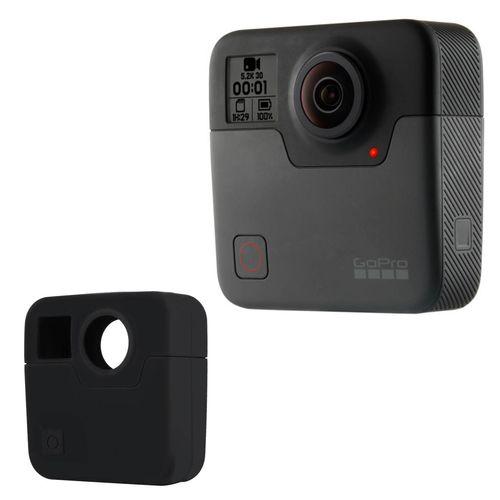 دوربین فیلمبرداری ورزشی گوپرو مدل Fusion همراه با کاور سیلیکونی پلوز