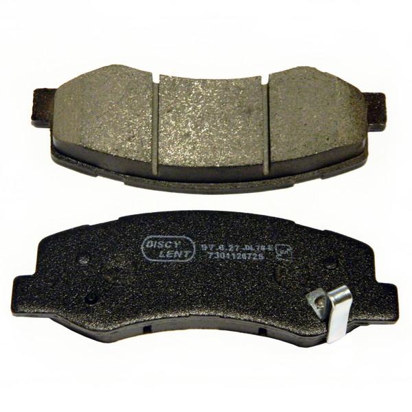 لنت ترمز جلو دیسکی لنت مدل 80134 مناسب برای رانا