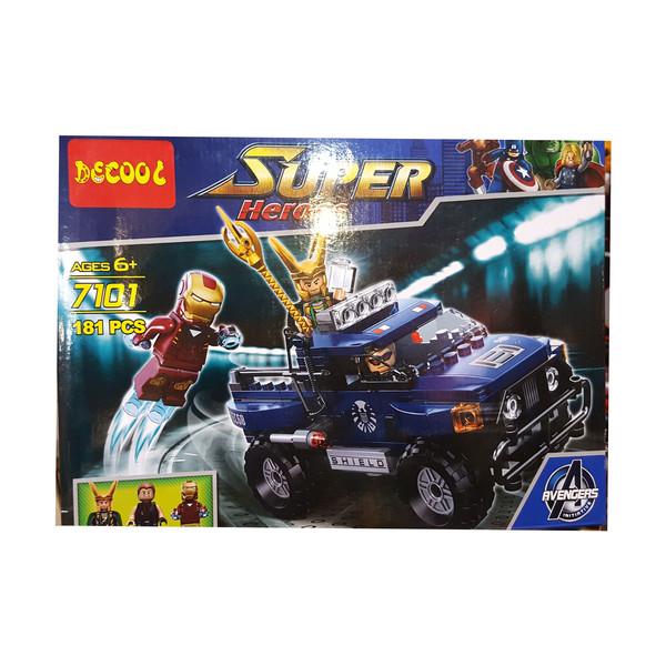 لگو دکول مدل سوپر هیرو