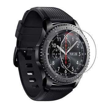 محافظ صفحه نمایش یونیفا مدل 3D Glass مناسب برای ساعت هوشمند سامسونگ Gear S3