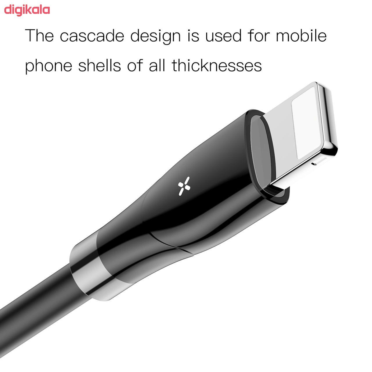 کابل تبدیل USB به لایتنینگ باسئوس مدل CALEYE طول 1.2 متر main 1 9