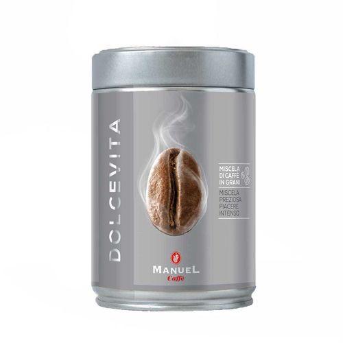 قهوه آسیاب مانوئل مدل Dolce Vita قوطی 250 گرمی