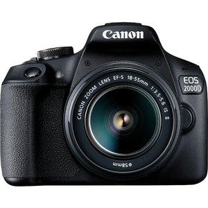 دوربین دیجیتال کانن مدل EOS 2000D به همراه لنز 18-55 میلی متر IS II