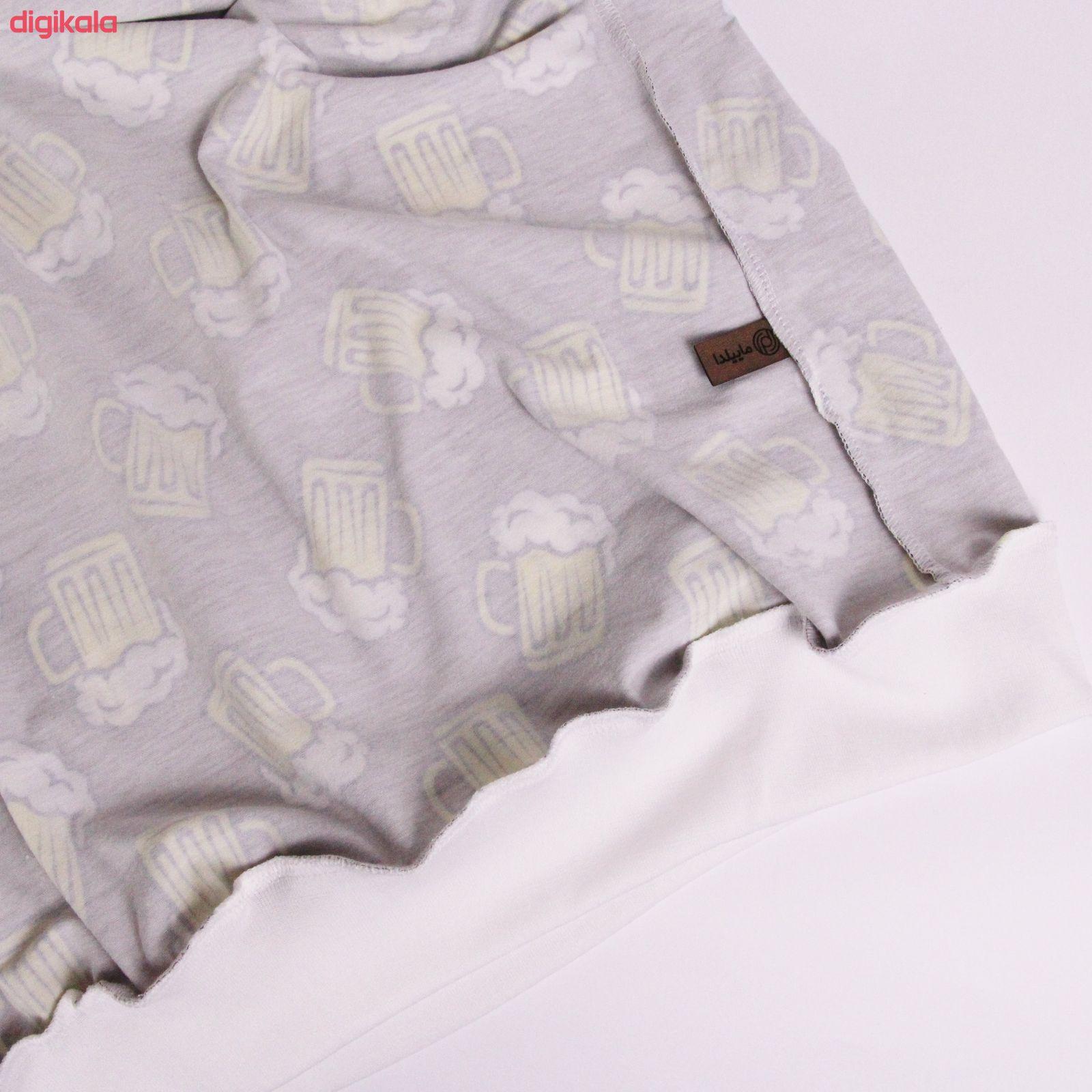 ست تی شرت و شلوار زنانه ماییلدا مدل 3587-2 main 1 5