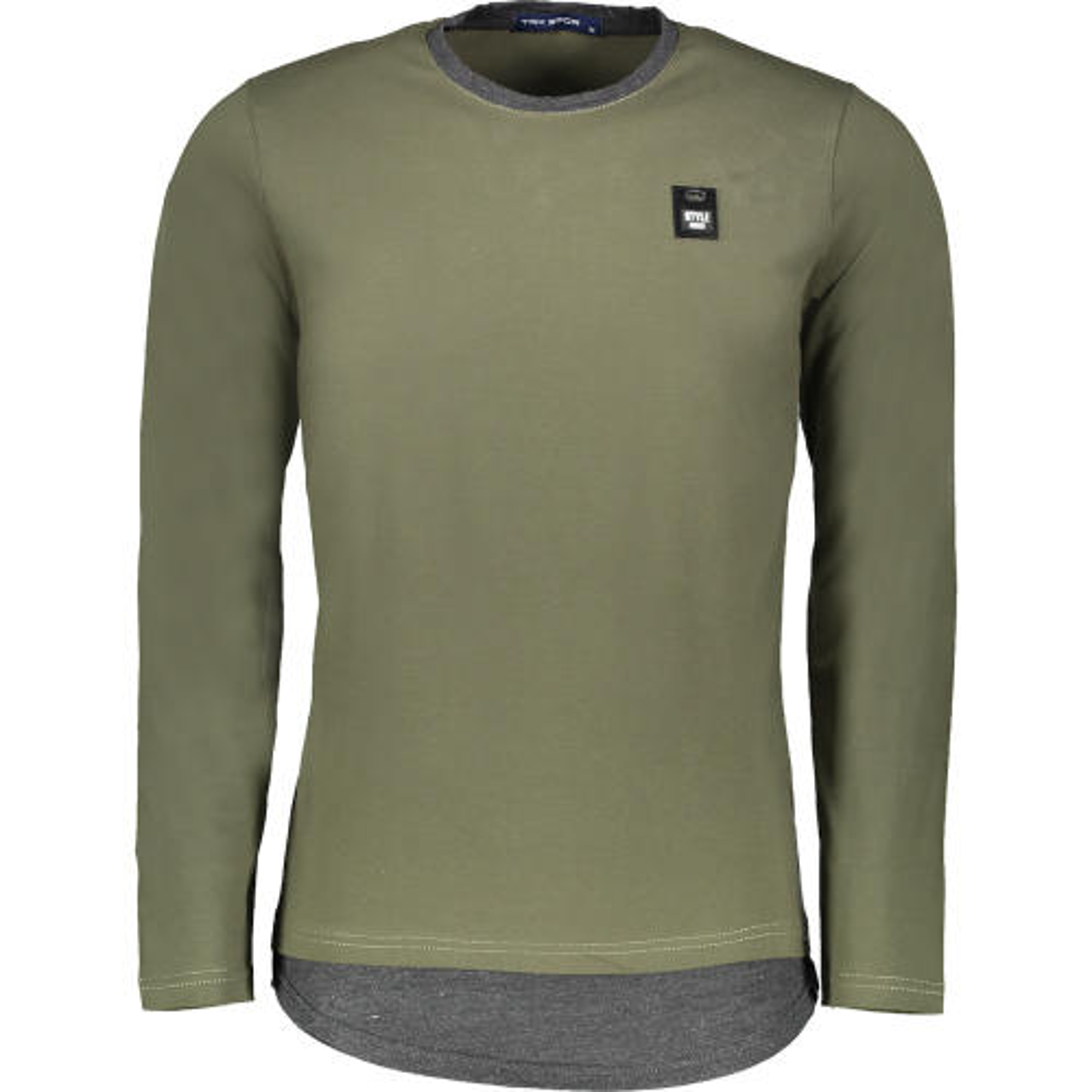تی شرت آستین بلند مردانه تارکان کد 253-2