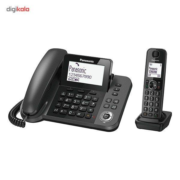 تلفن بیسیم پاناسونیک مدل KX-TGF310 main 1 1