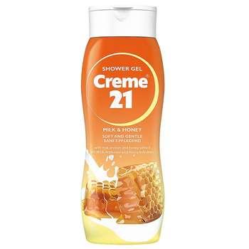 شامپو بدن کرم 21 مدل Milk And Honey حجم 250 میلی لیتر