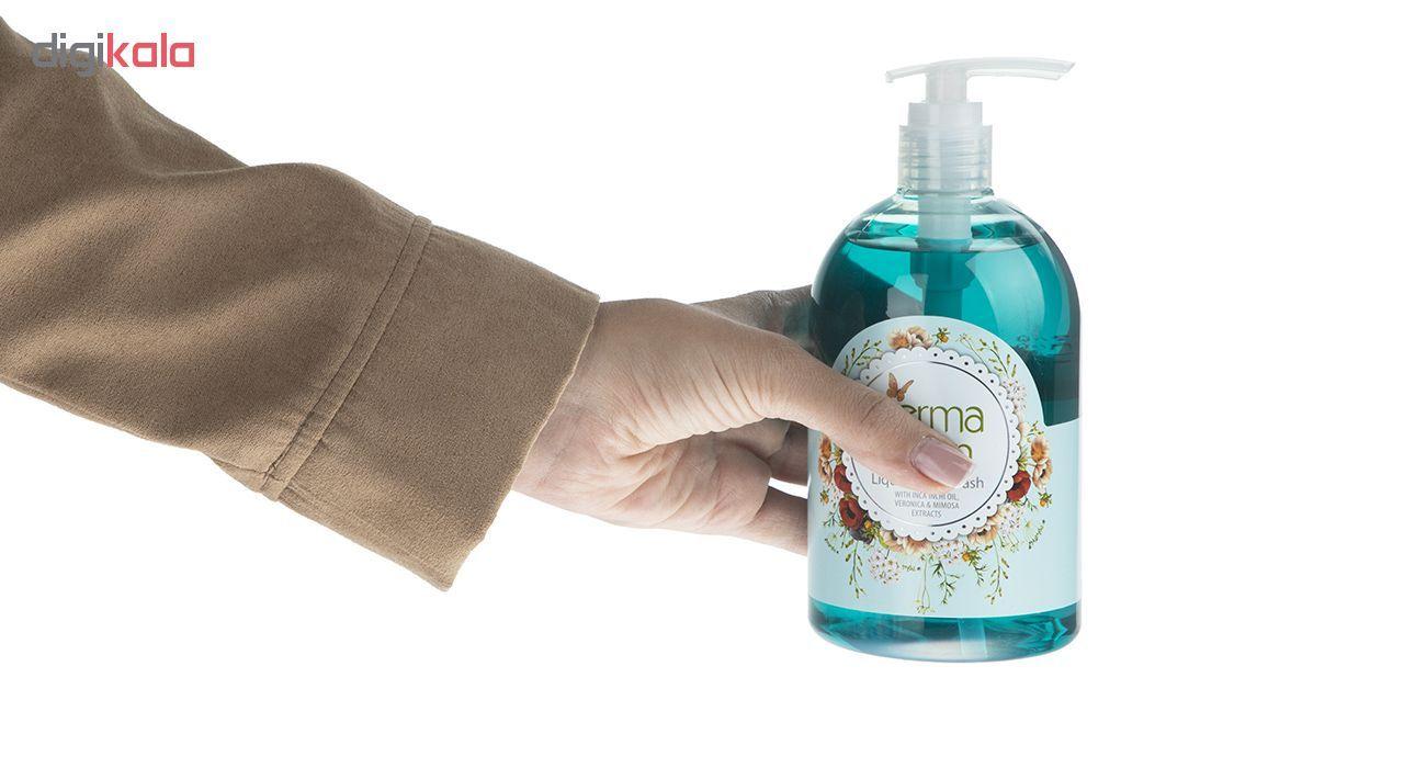 مایع دستشویی درما کلین مدل Mimosa حجم 500 میلی لیتر main 1 5