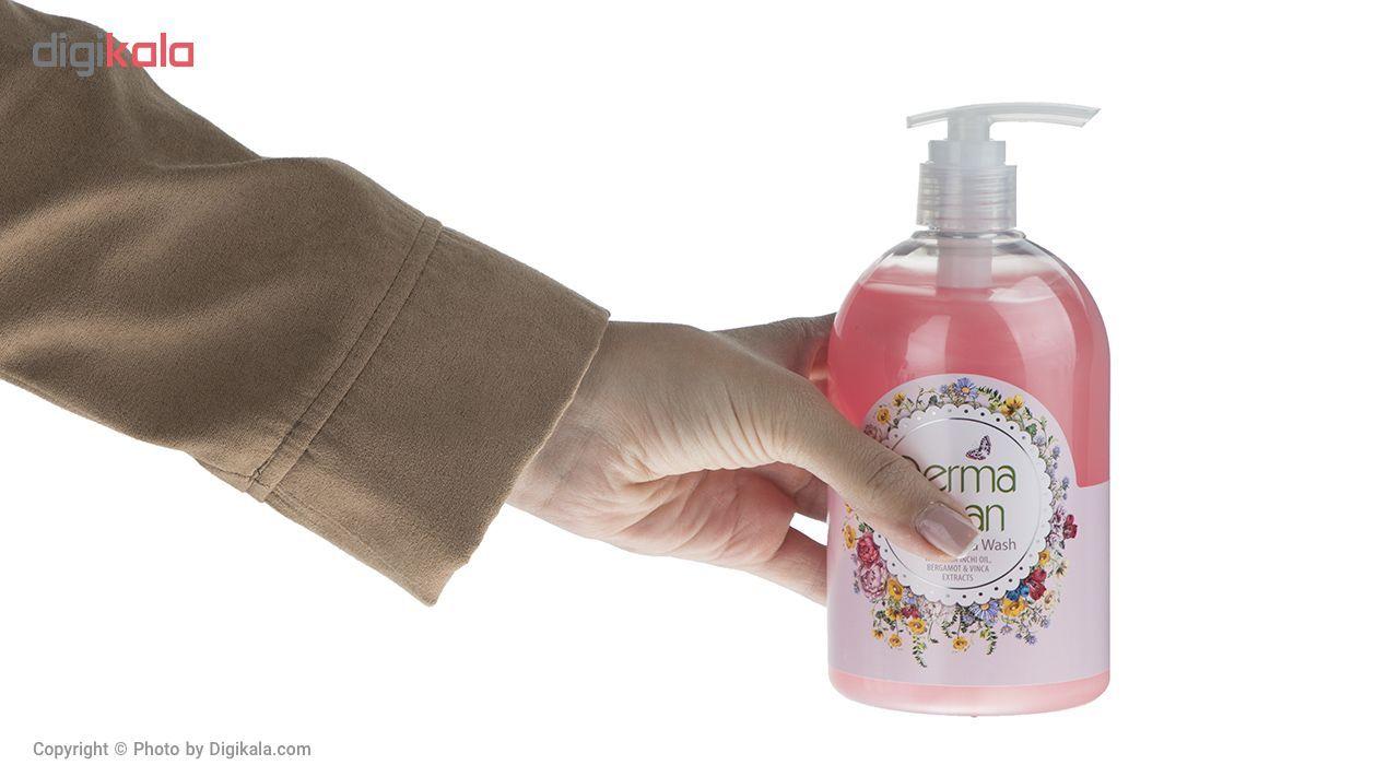 مایع دستشویی درما کلین مدل Bergamot حجم 500 میلی لیتر main 1 5