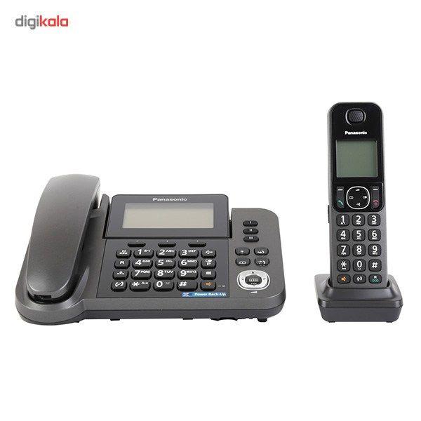تلفن بیسیم پاناسونیک مدل KX-TGF310 main 1 2