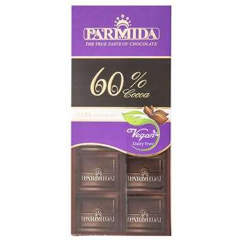 شکلات تلخ 60 درصد پارمیدا مقدار 80 گرم
