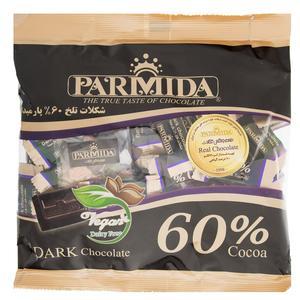 شکلات تلخ 60 درصد پارمیدا مقدار 330 گرم
