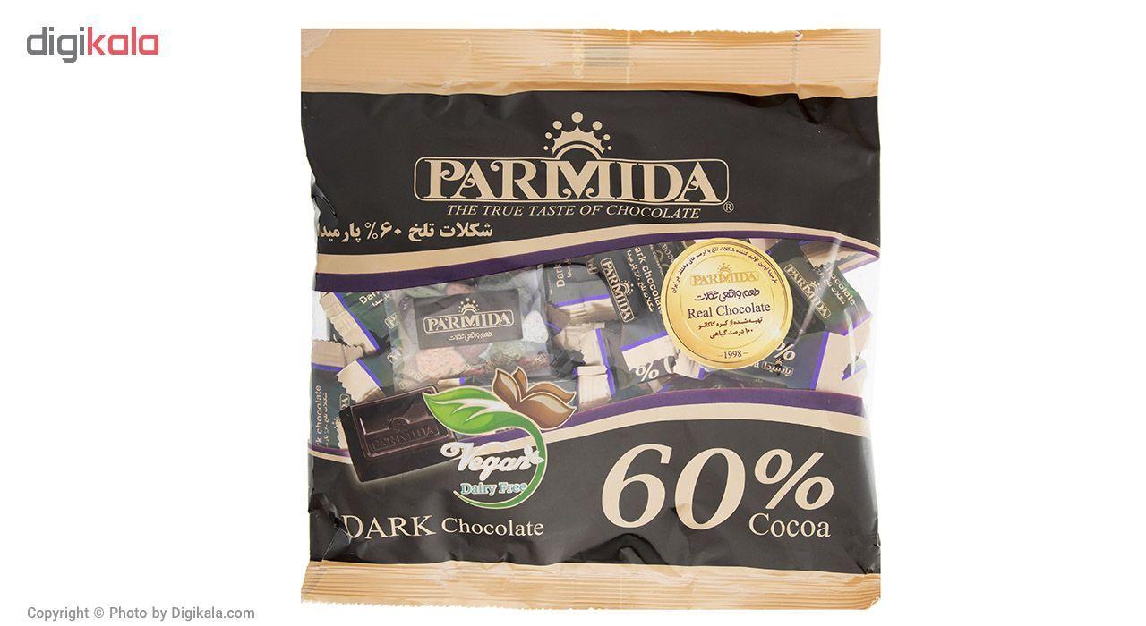 شکلات تلخ 60 درصد پارمیدا مقدار 330 گرم main 1 1