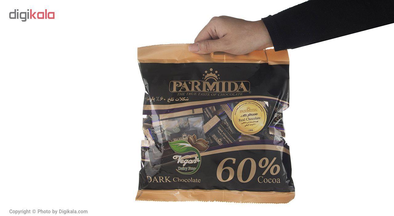 شکلات تلخ 60 درصد پارمیدا مقدار 330 گرم main 1 4