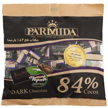 شکلات تلخ 84 درصد پارمیدا مقدار 330 گرم