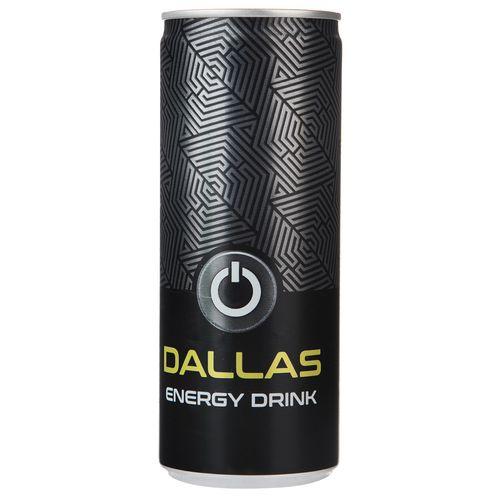 نوشابه انرژی زا دالاس مقدار 0.24 لیتر