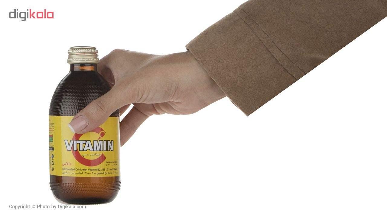 نوشیدنی گازدار ویتامین C دالاس حجم 0.24 لیتر main 1 4