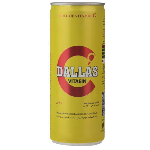 نوشابه انرژی زا Vitaein دالاس مقدار 0.24 لیتر