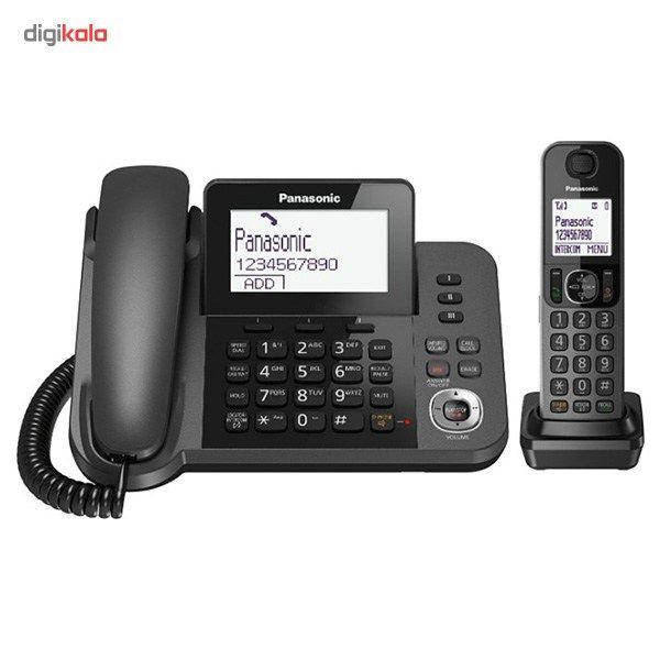 تلفن بیسیم پاناسونیک مدل KX-TGF310 main 1 3