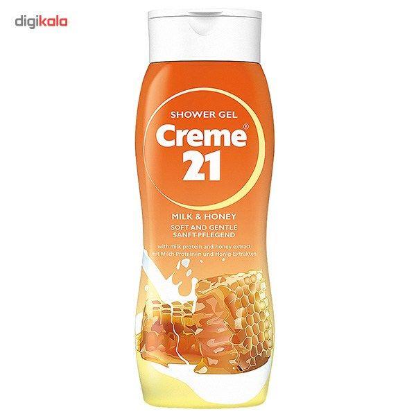 شامپو بدن کرم 21 مدل Milk And Honey حجم 250 میلی لیتر main 1 1