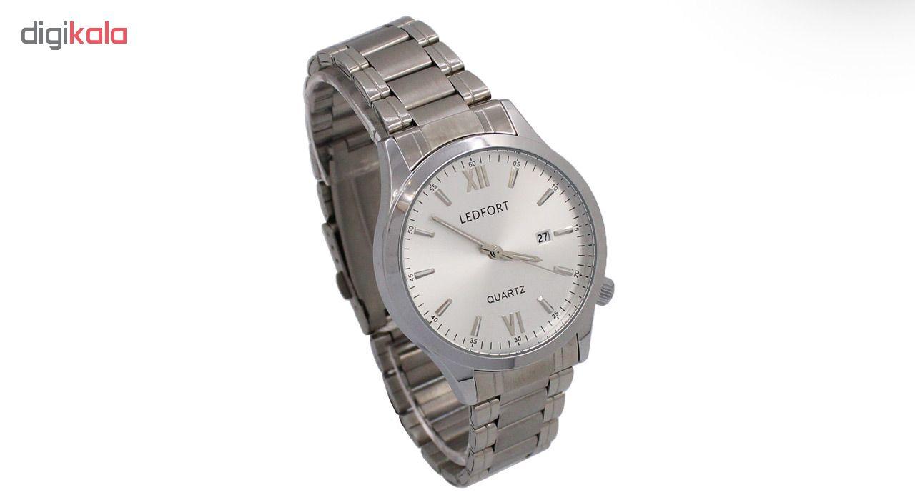 خرید ساعت مچی عقربه ای مردانه لدفورت کد MU-00189
