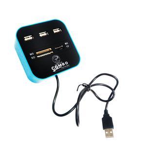 هاب 3 پورت USB و رم ریدر ایکس پی پروداکت مدل XP-HC836