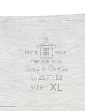 ست تی شرت و شلوار زنانه فمیلی ور طرح دخترکد 0224 -  - 9