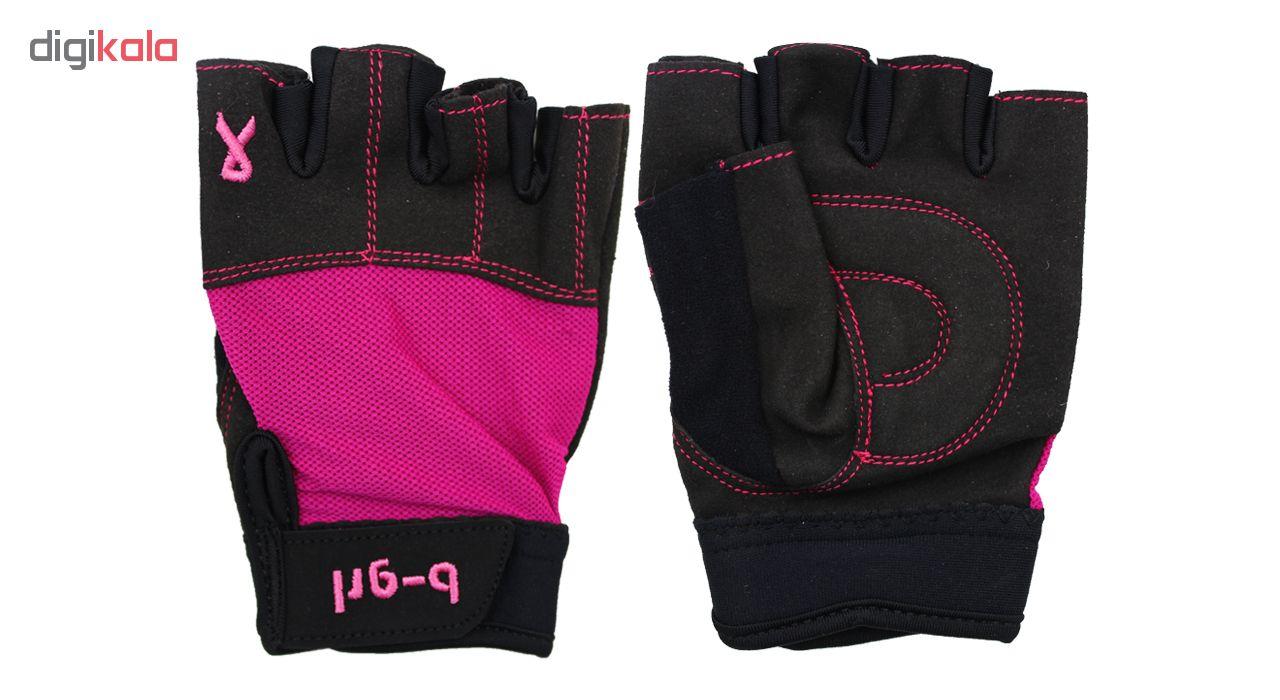 دستکش بدنسازی نه بی گرل مدل n12